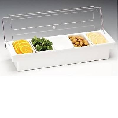 Zicco ZCP 305 Bar konteyner, 5'li, polikarbonat kapaklý