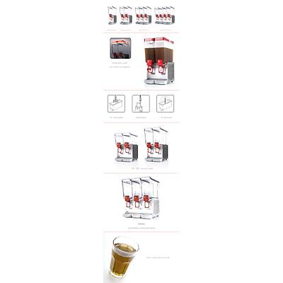 UGOLINI DLX 12-3 Meyve Suyu Dispenseri - Þerbetlik