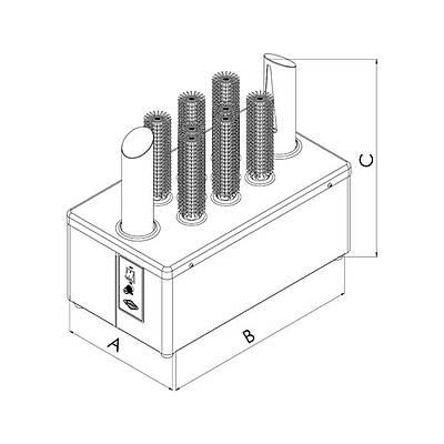 EMPERO EMP.BPR.001 Bardak Kurutma Makinesi