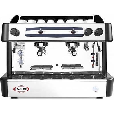 EMPERO Capuccino ve Espresso Makinesi 2 Gruplu