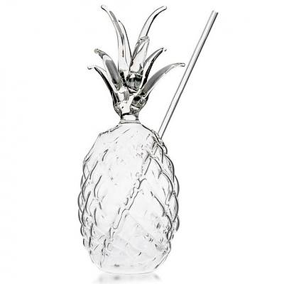 100% Chef Ananas Glass, 300 ml