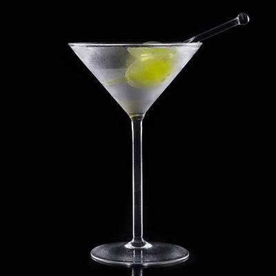 100% Chef Dry Martini Freezer Color, 10 cm, 3 adet