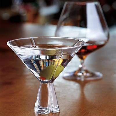 Spiegelau Havanna Martini Glass, 270 ml, 12'li set
