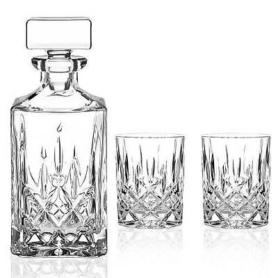 Nachtmann Noblesse Whisky Set (Whisky Tumbler 2 + Carafe 1)