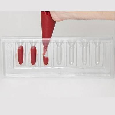 100% Chef Lipstick Mould 3D