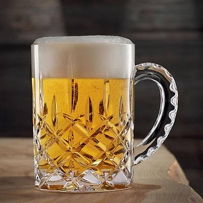 Nachtmann Noblesse Beer Mug, 600 ml, 12'li set