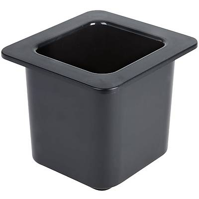 Cambro 66CF110 ColdFest 1/6 Size Black Food Pan