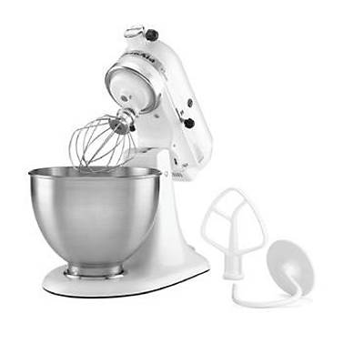 KitchenAid Setüstü Planet Mikser, Classic, Beyaz