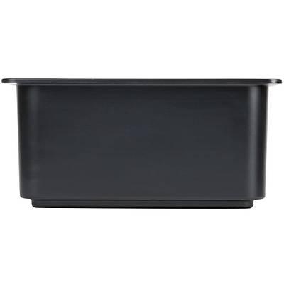 Cambro 36CF110 ColdFest 1/3 Size Black Food Pan