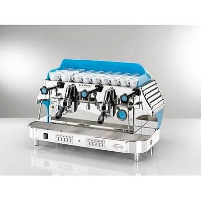 Elektra Barlume 2 Grup Otomatik Kahve Makinesi, Mavi