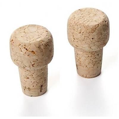 100% Chef Corks for Champagne Bottles, 50 adet