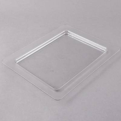 Cambro 20CFC135 ColdFest 1/2 Size Clear Flat Pan Cover
