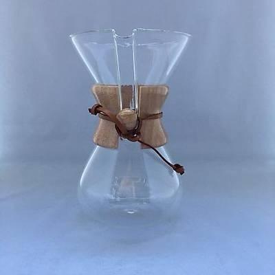 Cam Kahve Demleyici, Ahþap Tutacaklý, 5 cups