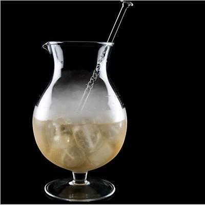 100% Chef Gallon Mixing Glass, 2,5L