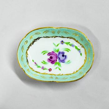 Porselen Midi Oval Çerezlik
