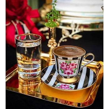 Azra Kahve Fincaný - Stripe