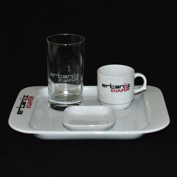 Kurumsal Logolu Kahve Seti
