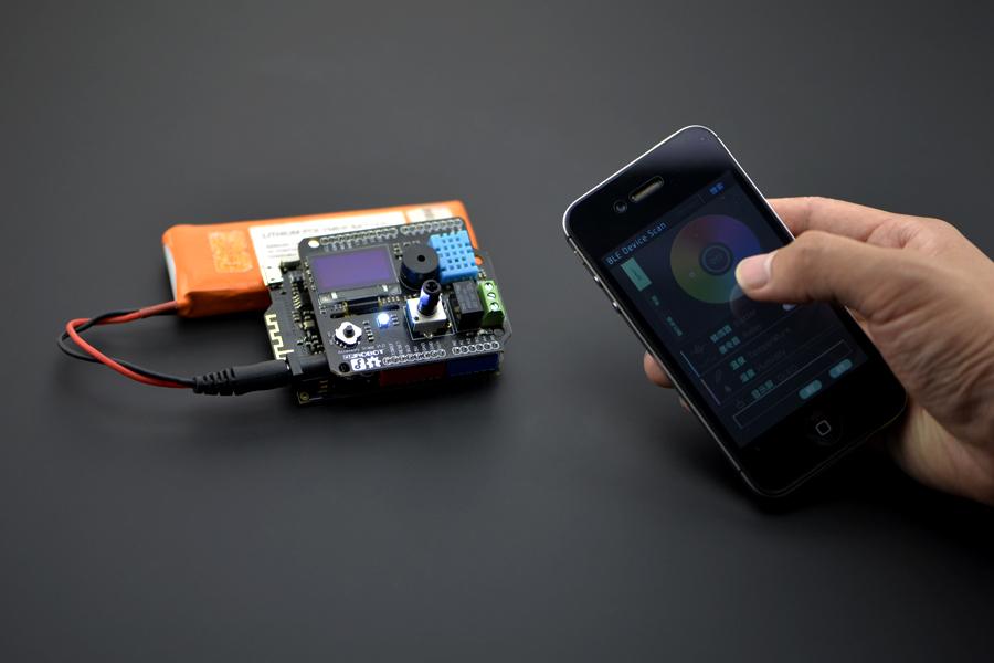 DFRobot Bluno - Arduino Bluetooth 4 0 (BLE) Kart « DomiRobot