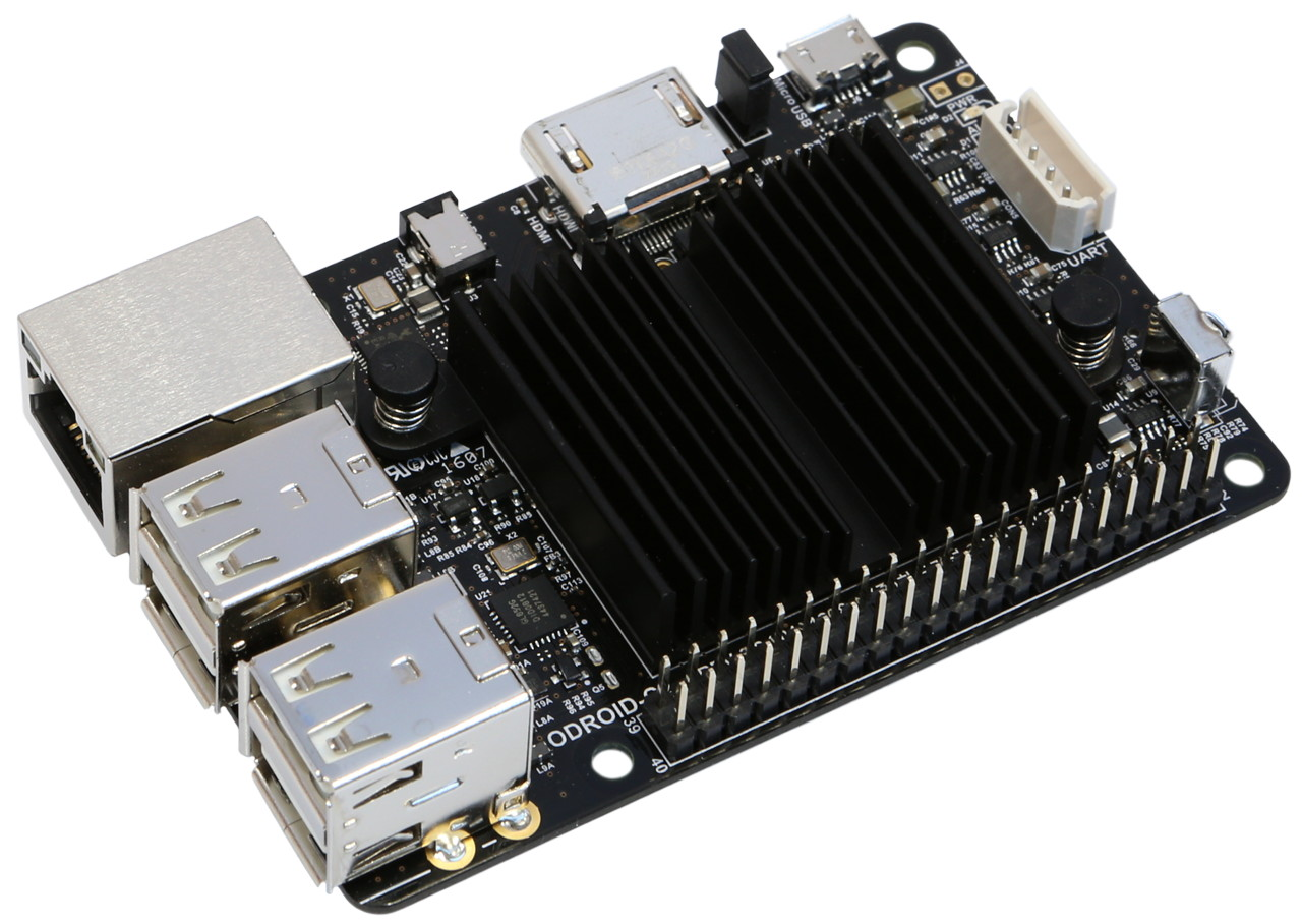 Odroid C2 64 Bit Quad Core Single Board Computersbc Domirobot Wiringpi Encoder Ykleniyor