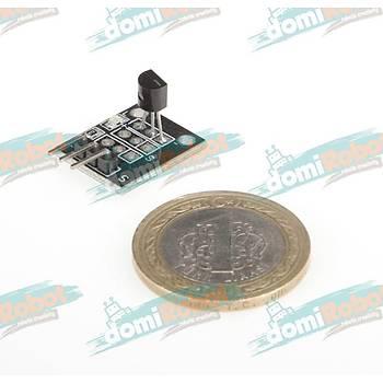 DS18B20 Sýcaklýk Sensör Modülü