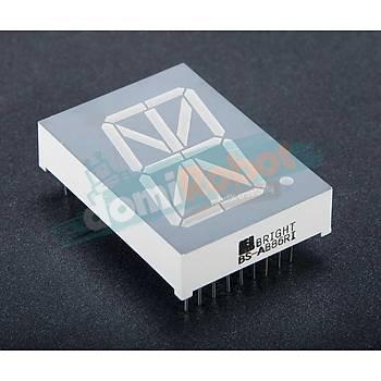 30.48mm KIRMIZI 1-Digit Alfanümerik LED Display (Anot)