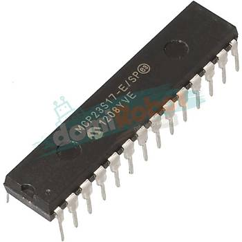MCP23S17 E/SP 16-Bit I/O Expander with serial interface