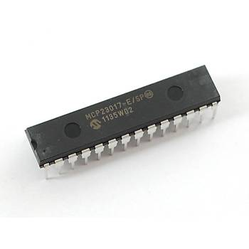 MCP23017 E/SP 16-Bit I/O Expander with serial interface