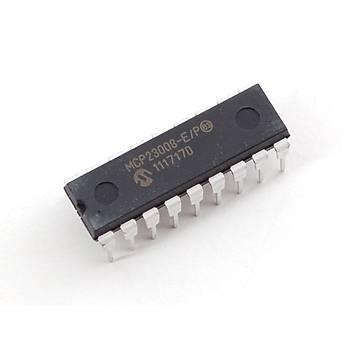 MCP23008 E/P  -8-Bit I/O Expander with serial interface