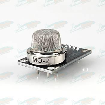 MQ-2 Yanýcý Gaz ve Sigara Duman Sensör Kartý