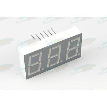 14.2mm KIRMIZI 3-Digit LED Display (Katod)