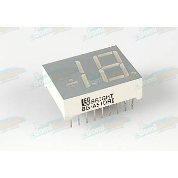 14.2mm KIRMIZI 2-Digit ÖZEL LED Display (Anot)