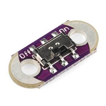LilyPad Slide Switch (On/Off Anahtar)- Orjinal Ürün