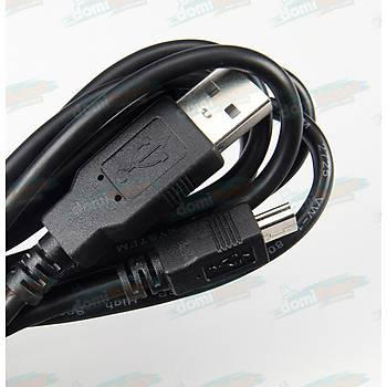 Mini USB - USB A Erkek Kablo L:1.8m