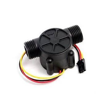 YF-S201 Su Akýþ ve Hidrolik Basýnç Sensörü - Water Flow Sensor -