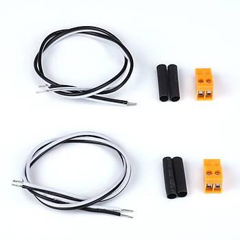 MakeBlock Uçları Açılmış Çok Amaçlı Çift Kablo 22AWG L:35cm