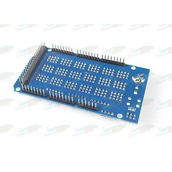Mega IO Geniþletme + Sensör Shield Ver.2.0 -Arduino Mega Uyumlu-