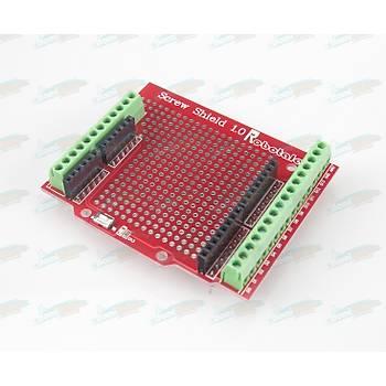 Screw Shield (Montajlý) -Arduino Uyumlu-