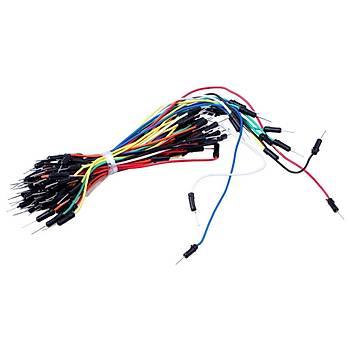 Esnek Erkek-Erkek Jumper Kablo Seti (65adet)