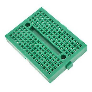 Mini Breadboard 170Point - Yeþil (Yapýþkanlý)