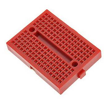 Mini Breadboard 170Point - Kýrmýzý (Yapýþkanlý)