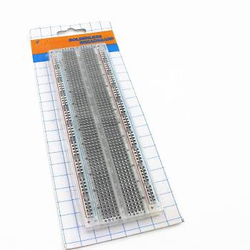 Breadboard Tam Boy MB102 - 830pin Þeffaf