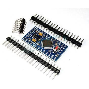 Arduino Pro Mini 328 Klon - 5 V / 16 MHz (Header dahil)