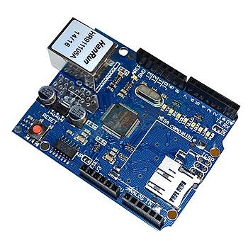 Ethernet Shield (W5100) -Arduino Uyumlu-