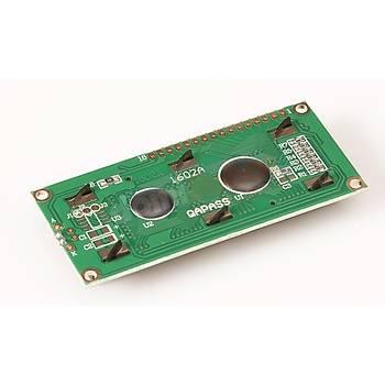 16x2 LCD Ekran ::Mavi Arka Iþýklý
