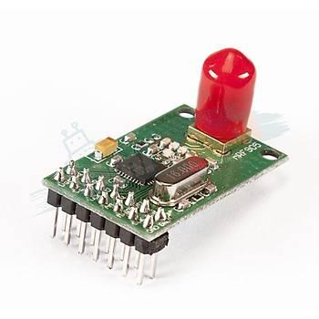 Wireless NRF905SE Transceiver Modül -  Alýcý Verici Modül (Antenli)