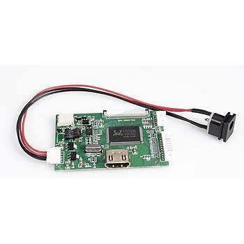 HDMI 7 inç Dokunmatik LCD Ekran Seti -1024x600 IPS