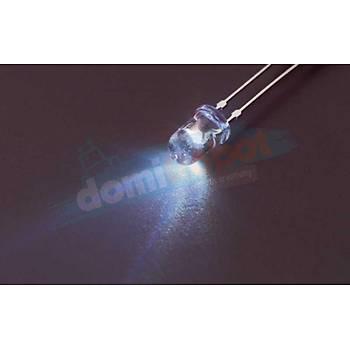 3mm Þeffaf Beyaz LED (10adet)