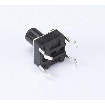 4 Pin Mini Push-Buton (Tuþ Yüksekliði 4mm)