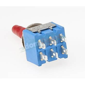 6Pin Toggle Switch On/Off/On (MTS-203)