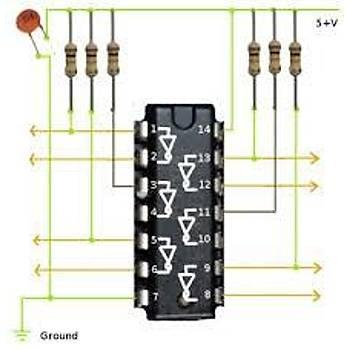 74HC14 - High Speed CMOS Schmitt Inverter